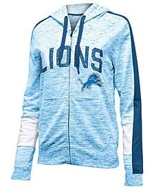 Women's Detroit Lions Space Dye Full-Zip Hoodie