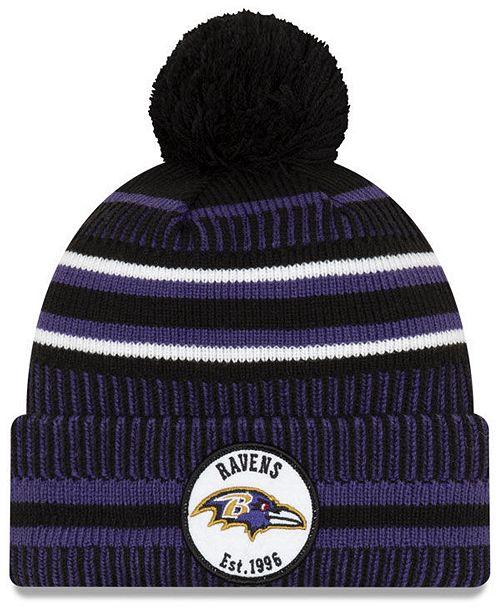 New Era Baltimore Ravens Home Sport Knit Hat