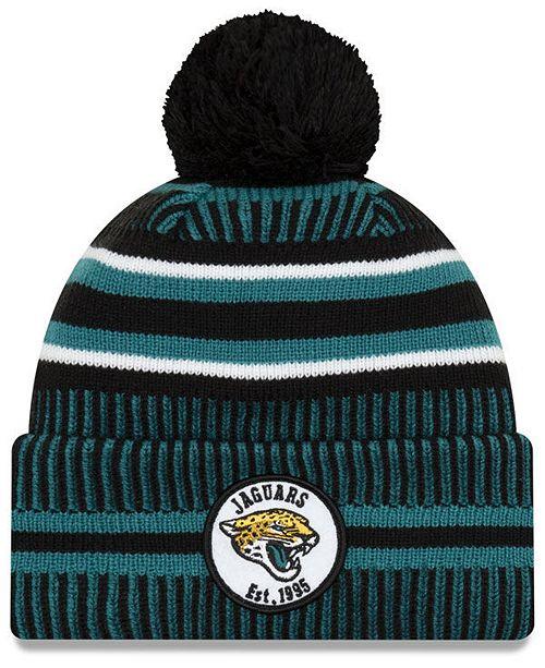 New Era Jacksonville Jaguars Home Sport Knit Hat