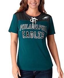 Women's Philadelphia Eagles Wildcard Jersey T-Shirt