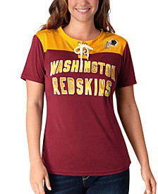 Women's Washington Redskins Wildcard Jersey T-Shirt
