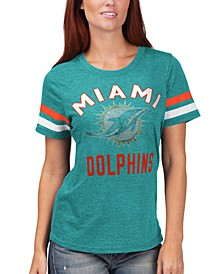 Women's Miami Dolphins Extra Point T-Shirt