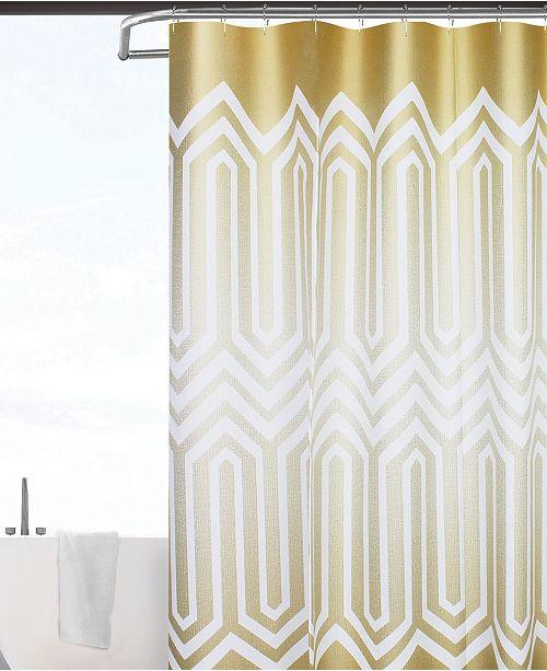 Spa 251 Geo 3D Semi-Transparent Shower Curtain/Liner