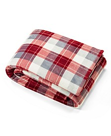 Bluff Plaid Full/Queen Blanket