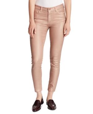 Ella Moss Jeans METALLIC ANKLE SKINNY JEANS