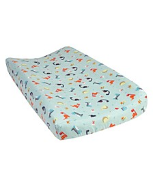 Dinosaurs Flannel Changing Pad Cover