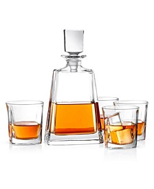 Luna Whiskey Decanter Set of 5