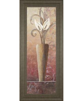 Flower in Vase II Framed Print Wall Art - 18
