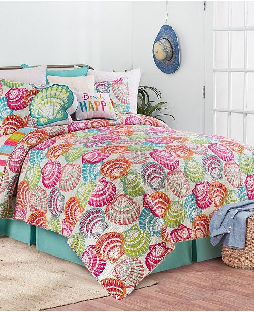 C & F Enterprises Inc C F Home Merritt Island Quilt Set Collection