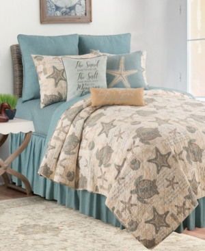 C & F Home Amber Sands King Quilt Set In Tan