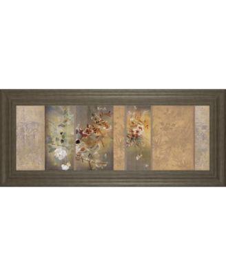 "Tea Garden II by Douglas Framed Print Wall Art, 18"" x 42"""