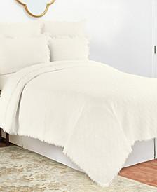 C F Home Trellis Full/Queen Quilt Set