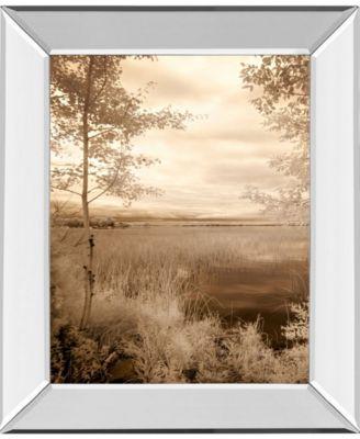 Peaceful Stream Il by Vivian Flasch Framed Print Wall Art - 22