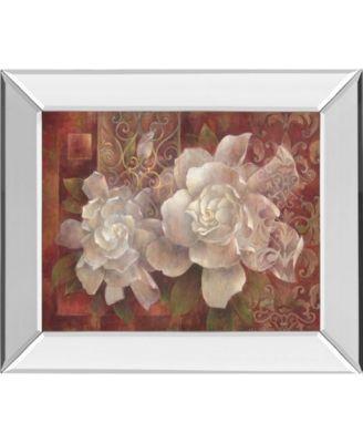 "Statement of Style II by Elaine Vollherbst-Lane Mirror Framed Print Wall Art, 22"" x 26"""