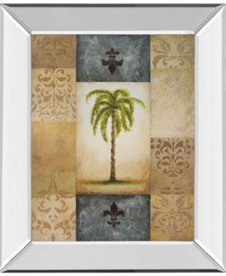 "Fantasy Palm II by Michael Marcon Mirror Framed Print Wall Art, 22"" x 26"""