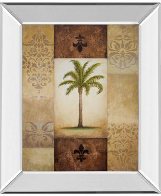 "Fantasy Palm I by Michael Marcon Mirror Framed Print Wall Art, 22"" x 26"""