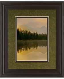 """Twilight Reflection I by Danita Delimont and Mossy Oak Native Living Framed Print Wall Art, 34"""" x 40"""""""