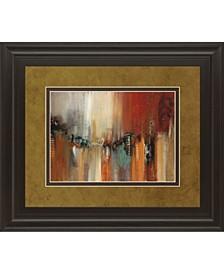 "Skyline by Cat Tesla Framed Print Wall Art, 34"" x 40"""