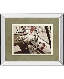 "Cool Cats by Gail Peck Mirror Framed Print Wall Art, 34"" x 40"""