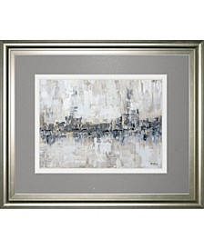 """Winter Melt by Parm Armstrong Framed Print Wall Art, 34"""" x 40"""""""