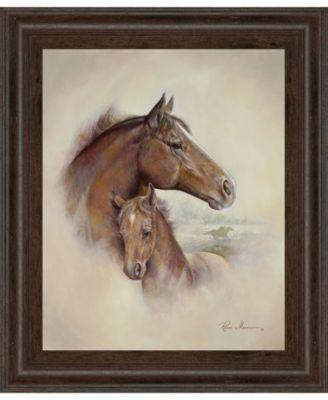 "Race Horse II by Roane Manning Framed Print Wall Art, 22"" x 26"""