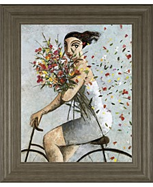 "Petals by Lourenco Framed Print Wall Art, 22"" x 26"""