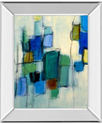 """Bayside II by Lannie Loreth Mirror Framed Print Wall Art, 22"""" x 26"""""""