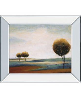 "Tranquil Plains II by Ursula Salemink-Roos Mirror Framed Print Wall Art, 22"" x 26"""