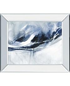 "Silver Lining by Karen Lorena Parker Mirror Framed Print Wall Art, 22"" x 26"""