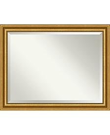 "Parlor Gold-tone Framed Bathroom Vanity Wall Mirror, 45.62"" x 35.62"""