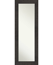 "Rustic Plank on The Door Full Length Mirror, 19.38"" x 53.38"""