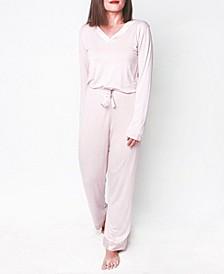 Mood Pajama Cozy Mood Ultra Soft Long- Sleeve Pajama Set