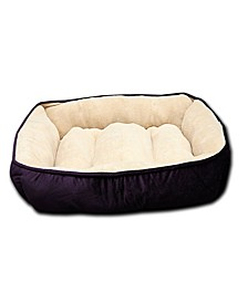Luxury Embossed Rectangle Large Dog and Pet Bed