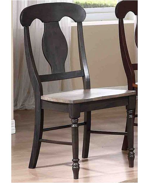ICONIC FURNITURE Company Napoleon Dining Chairs, Set of 2