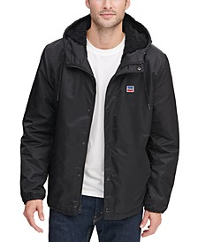 Men's Fleece-Lined Coaches Jacket