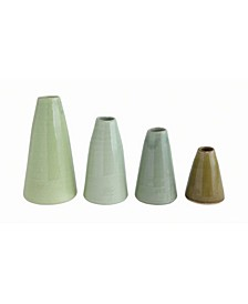 Terra Cotta Vases, Set of 4