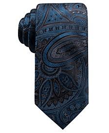 Men's Matilda Slim Paisley Silk Tie, Created for Macy's