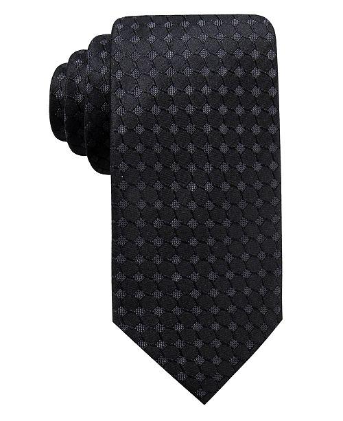 Ryan Seacrest Distinction Men's Boysen Slim Geo Silk Tie, Created For Macy's