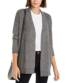 INC Waffle-Stitch Cozy Cardigan Sweater, Created For Macy's
