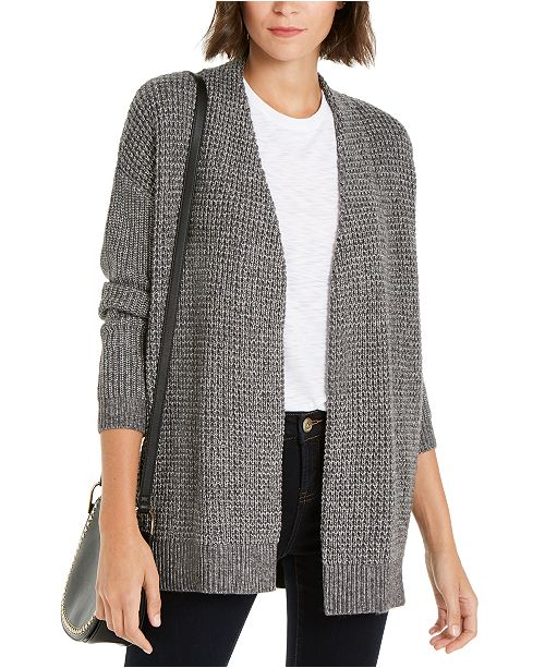 INC International Concepts INC Waffle-Stitch Cozy Cardigan Sweater, Created For Macy's