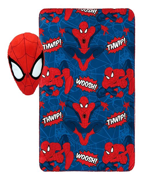 Marvel Spiderman Travel Blanket & Pillow Set