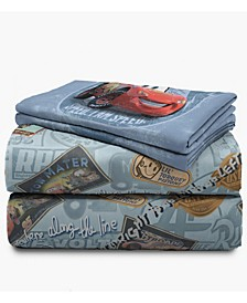 Cars 4-Piece Full Sheet Set