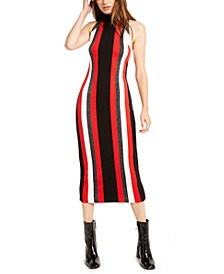 Metallic-Stripe Sweater Dress, Created For Macy's