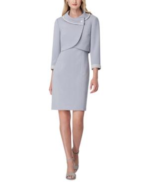 60s Dresses | 1960s Dresses Mod, Mini, Hippie Tahari Asl Portrait-Collar Jacket  Dress Suit $129.99 AT vintagedancer.com