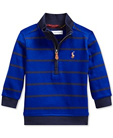 Baby Boy's Cotton Interlock Stripe Pullover