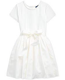 Big Girl's Stretch Interlock Dress