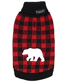 Buffalo Checkered Dog Sweater