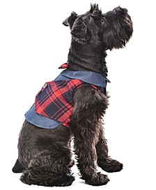 Scottish Plaid Dog Tuxedo