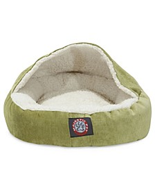"18"" Villa Micro-Velvet Canopy Dog Bed"