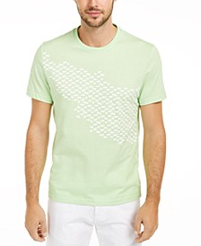Men's Asymmetrical Graphic T-Shirt, Created For Macy's
